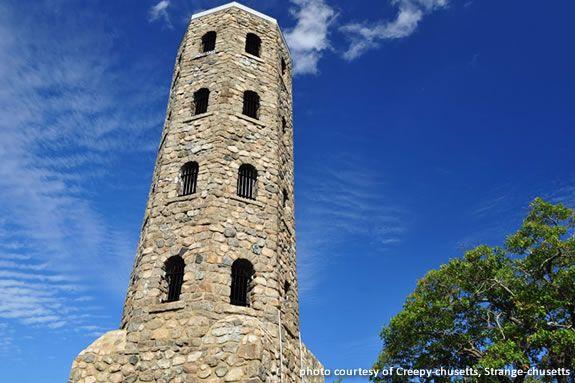 Thanks to Creepy-chusetts, Strange-chusetts for the great Lynn Woods Tower photo