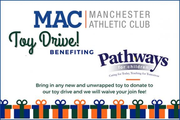 Manchester Athletic Club Holiday Toy Drive - Manchester MA