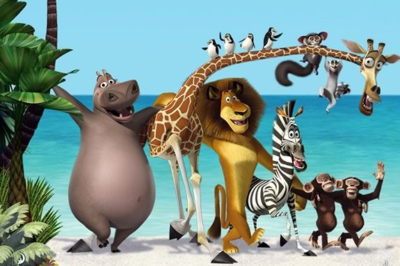 Watch Madagascar under the stars at Waterfront Park in Newburyport