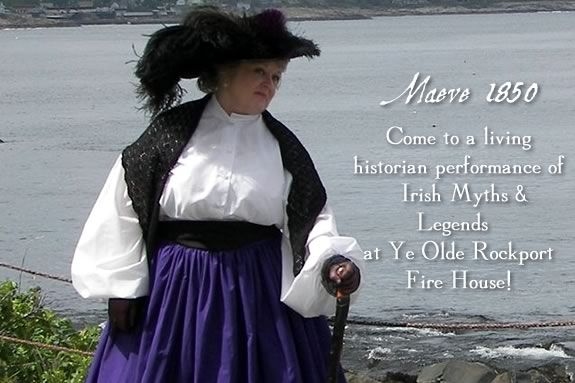Join a living historian presentation in Rockport Massachsuetts