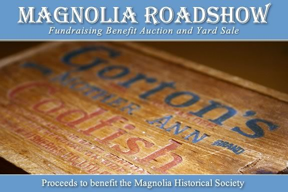 Proceeds from the Magnolia Roadshow go to the Magnolia Historical Society.
