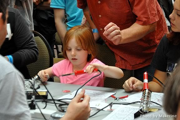 Learn How to solder with simple kits that have taught thousands this basic elect