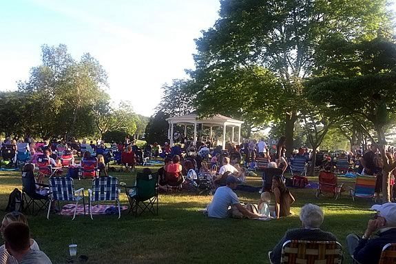 Summer Concerts happen at Masconomo Park in Manchester by the Sea every Tuesday through the Summer!