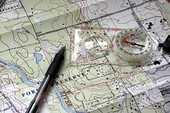 Learn the basics of map reading and orienteering in this IRWS workshop.
