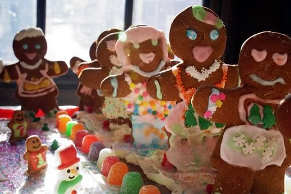 Kids are invited to come make their own entries for the Marblehead Gingerbread Festival!