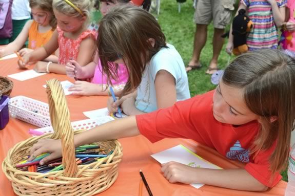 The Children's Festival is just one event of many in the Marblehead Festival of the Arts