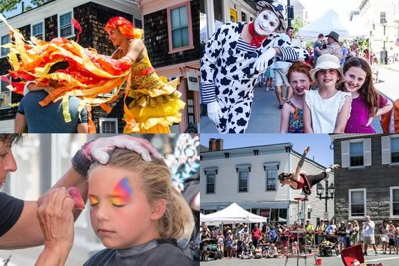 There's plenty to see and do for kids at the Marblehead Street Festival!