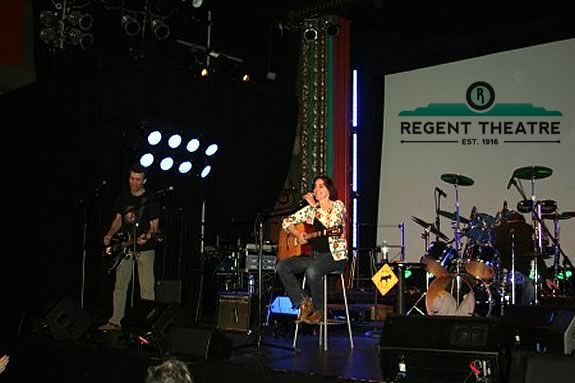 Come See Margot Fox at the Regent Theater!