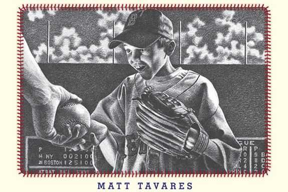 Zachary's Ball is a wonderful baseball story by Matt Tavares.