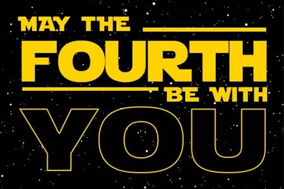 MAY the 4th Be With You! at the Manchester Public Library!