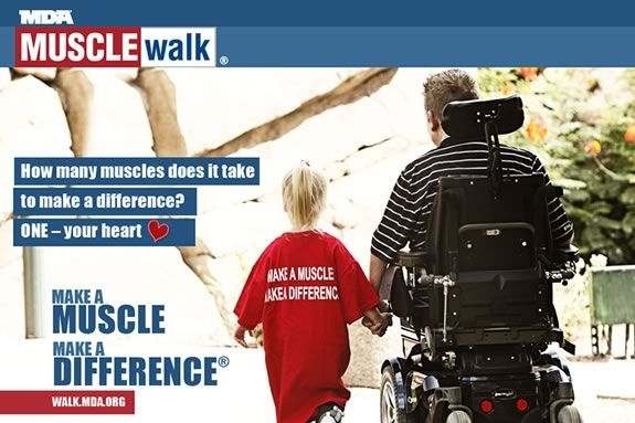 Help support the MDA by sponsoring a walker at the Muscle Walk in Ipswich!