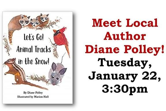 TOHP library in Essex Massachusetts invites you to come meet local author Diane Polley