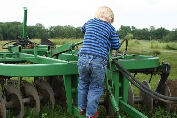 'Meet the Machines' at Appleton Farms will introduce you to farm machines.