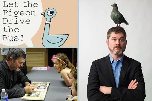 Mo Willems Book Signing and Film Premiere at the Eric Carle Museum Summer 2012