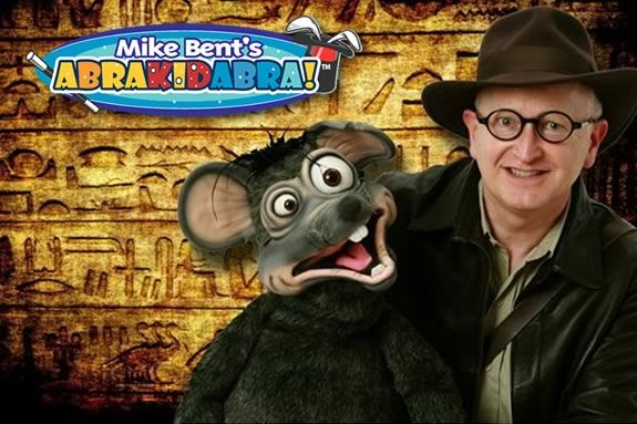 Come see Mike Bent's AbraKIDabra Magic at Sawyer Free Library in Gloucester!