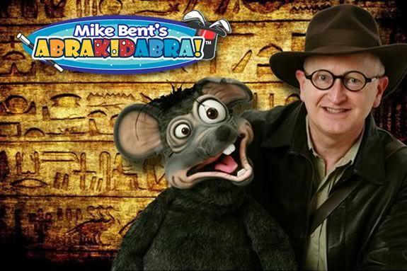 Come see Mike Bent's AbraKIDabra Magic
