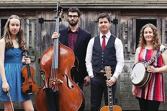 Rockport Musicv and the Hive in Gloucester host a free bluegrass live performance featuring Mile Twelve Bluegrass Band