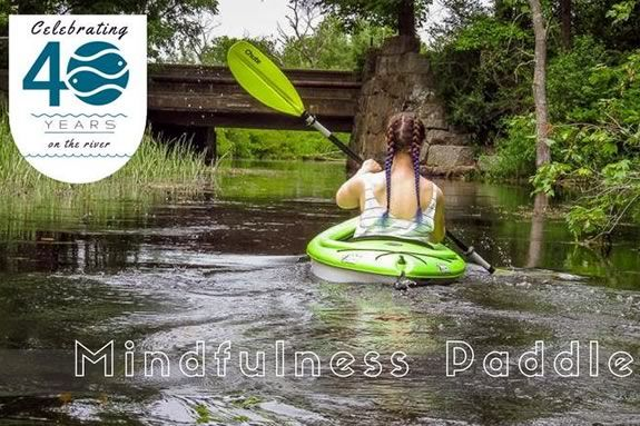 Turn your kayaking into a meditation with the Ipswich Watershed Association!
