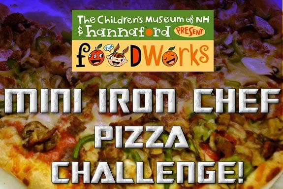 CMNH hosts a mini iron chef pizza challenge!