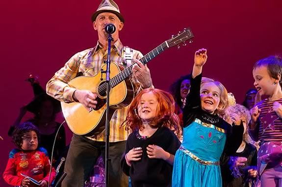 Kids will love the show Mister G puts on at the Firehouse Center for the Arts in Newburyport
