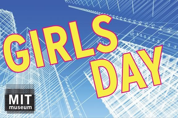 Girls are encouraged to follow their interests in the sciences at MIT Museum's Girls Day in Cambridge!