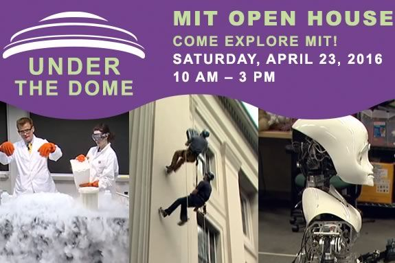 MIT's Open House is a chance to see some of the amazing things going on at MIT Museum in Cambridge Massachusetts!