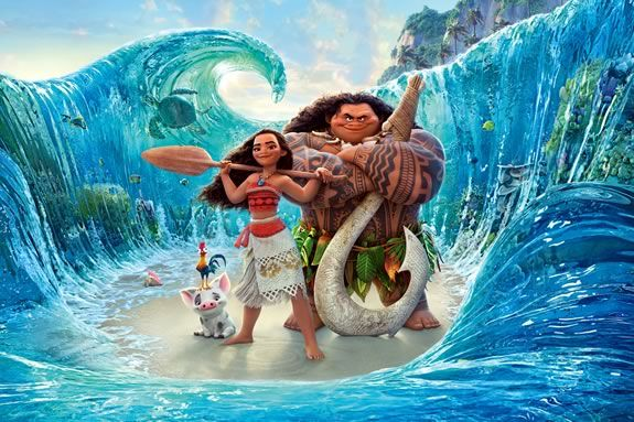 Kids and families are invited to Lynch Park for a free showing of Moana!