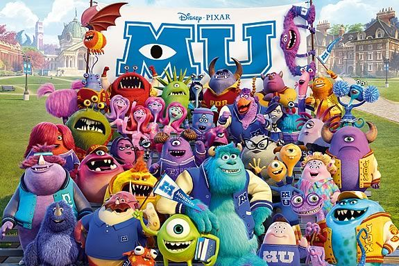 Rated G. This is a prequel to Monsters, Inc.(2001) Monsters University looks at