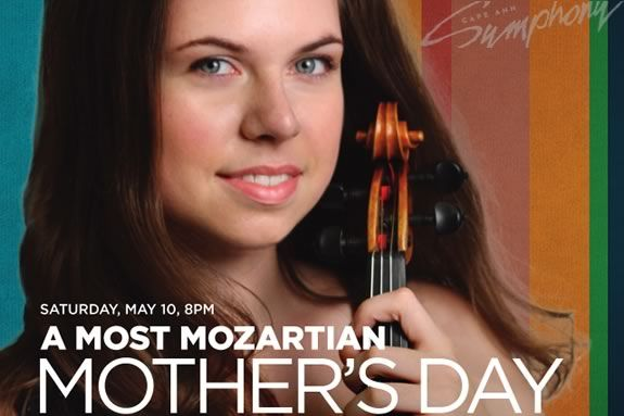 Mother's Day Mozart with Cape Ann Symphony featuring Tessa Clark in Manchester M