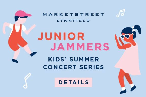 Kids Rock Concert Series at MarketStreet Lynnfield in Lynnfield MA