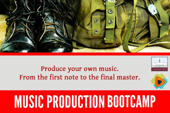 Music Production Workshop, Hamilton Wenham Community House