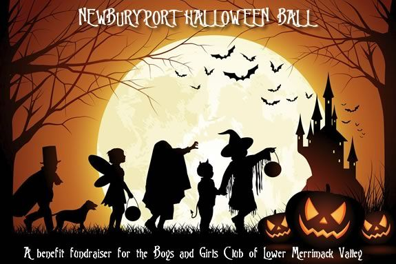 Halloween Ball Fundraiser to Benefit the Boys and Girls Club of the Lower Merrimack Valley