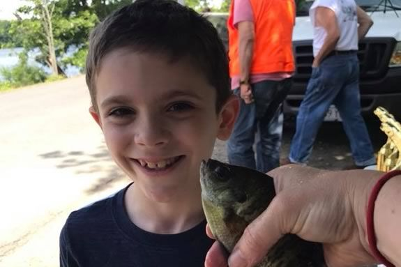 "Newburyport Youth Services hosts their 9th Annual ""Get Hooked"" Fishing Derby."