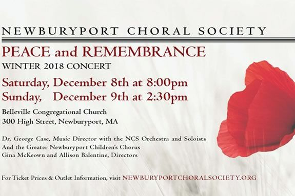 The Newburyport Choral Society Holiday Concert is a true mix of traditional and Spiritual music to get into the Holiday Spirit.