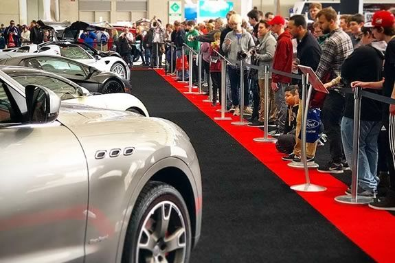 Come see the latest and greatest automobiles at the New England International Car Show in Boston!
