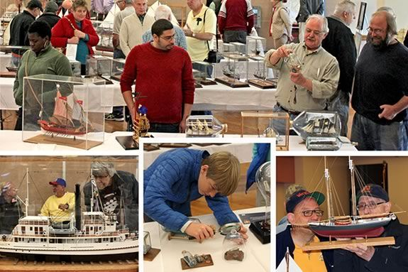 Come to Peabody MA for a FREE model ship show.