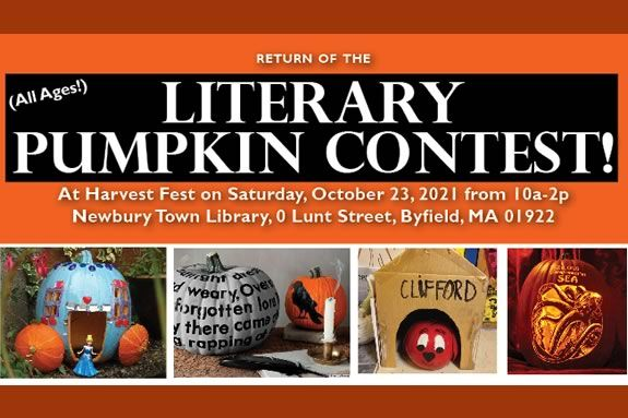 Pumpkin decorating is just one of the activities you can enjoy at the Fall Festival hosted by the friends of the Newbury Town Library