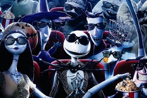 Come see Nightmare Before Christmas at the Winter Island Drive-in in Salem Massachusetts!