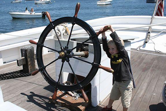 Schooner Adventure's Open House has some great activities for kids!