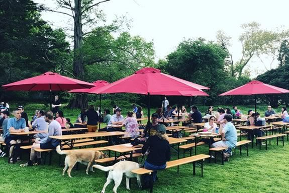 Notch Traveling Biergarten will be at Project Adventure on the Moraine Farm in Beverly, Massachusetts