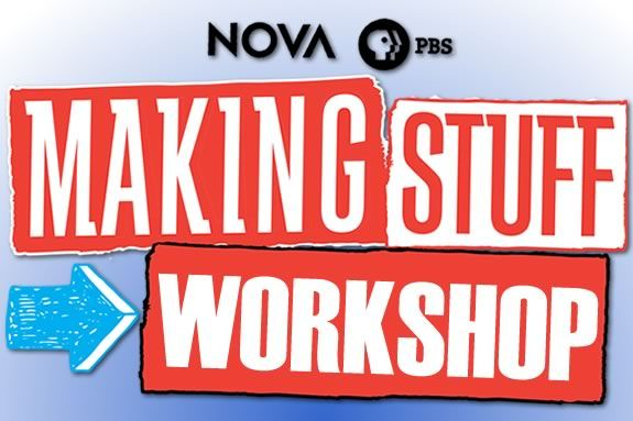 CMNH hosts a day long workshop inpsired by the PBS series 'Making Stuff'