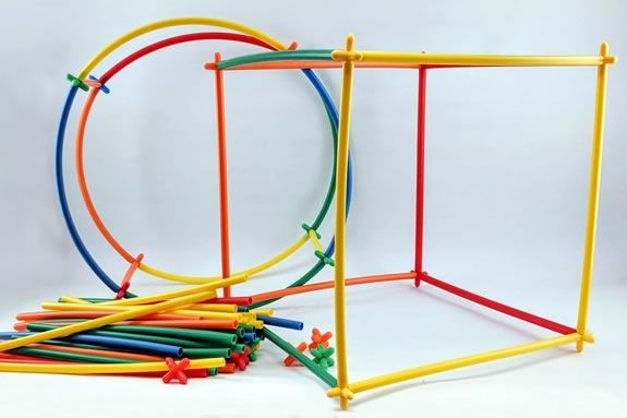 Kids are invited to come to NPL to make STEM structures after school!