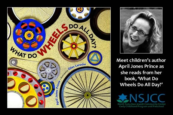 Meet author April Jones Prince at this NSJCC Children's Literacy Workshop