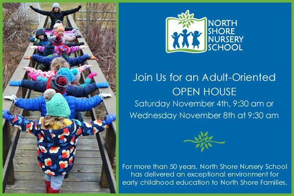 Preschool Open House for NorthShore Parents of Preschool Children