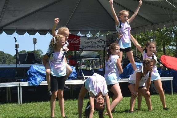 Children ages 6-18 are invited to enter the Newburyport Yankee Homecoming Kid's Talent Showcase.