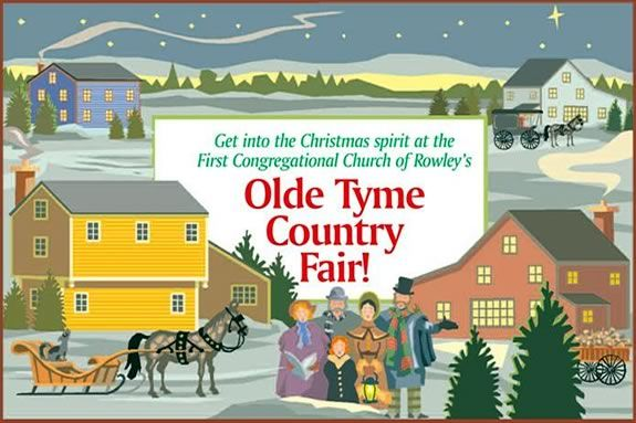 Old Tyme Country Fair at First Congregational Church in Rowley Massachusetts