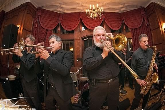 Overdrive Horns brings funk, rock, and swing to Waterfront Park in Newburyport!