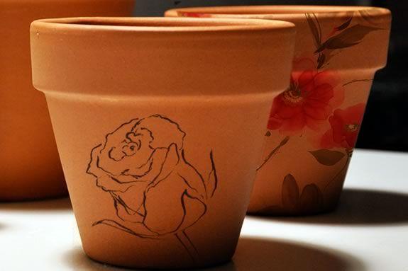 Newburyport Public Library invites teens to a flower pot painting workshop!