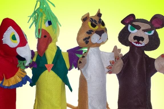 Renown puppeteer and story teller Pat Spalding will lead this workshop at CMNH