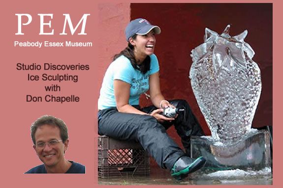 Visit Salem MA, PEM and learn from master ice carver Don Chapelle